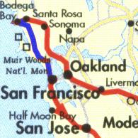 Santa Rosa - San Francisco