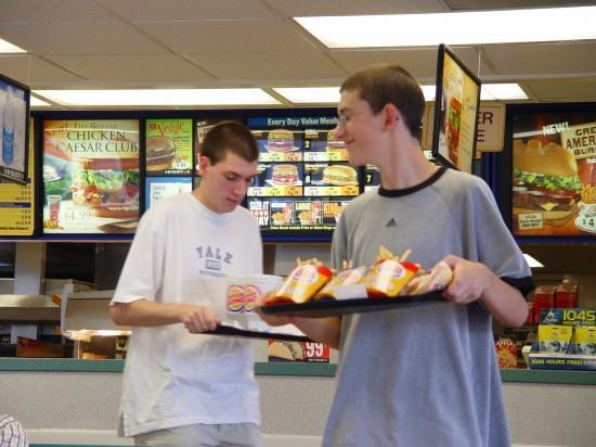 Erste echt-amerikanische Mahlzeit - powered by Burger King