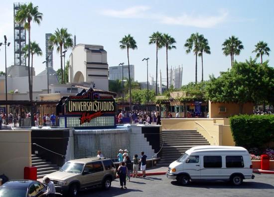 Die Universal Filmstudios in Hollywood
