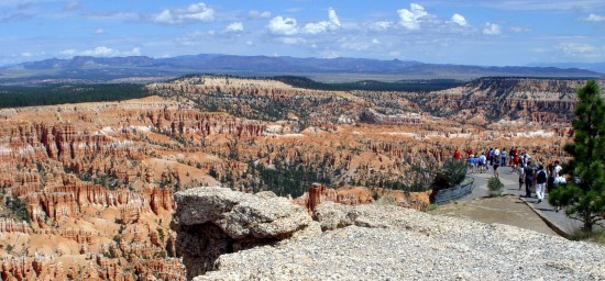 Panorama am Bryce Canyon