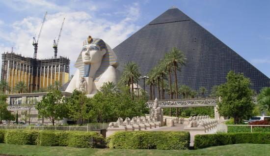 Das Luxor in Las Vegas