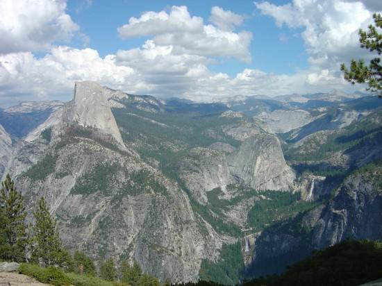 Der Ausblick vom Glacier Point im Yosemite National Park