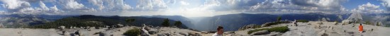 360°-Panorama Yosemite National Park
