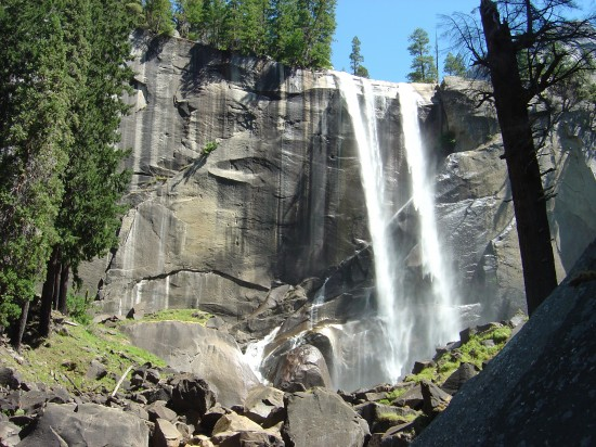Die Vernal-Falls im Yosemite National Park