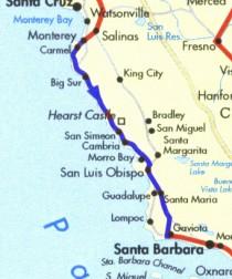 Montery - Santa Barbara