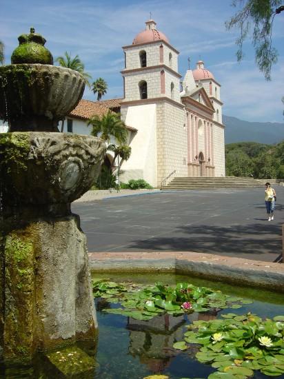 Die Missionskirche in Santa Barbara