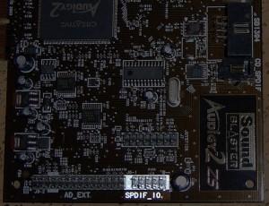 SPDIF_IO Ausgang auf Audigy 2 ZS