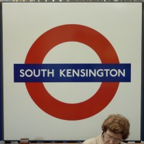 South Kensington underground