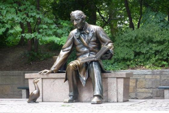 Hans Christian Andersen im Central Park