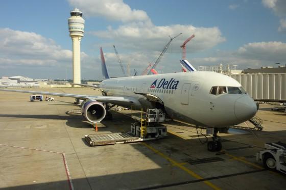 Flieger Atlanta-Stuttgart