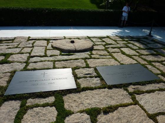 Grab von J.F. Kennedy