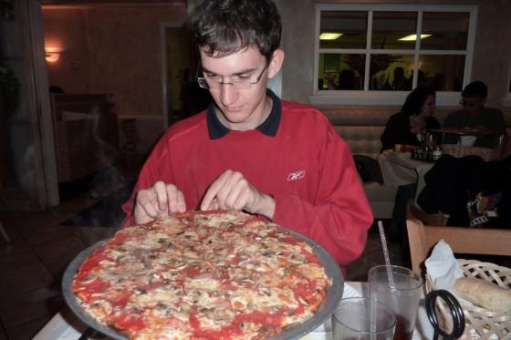 """""""Kleine"""" Pizza"""