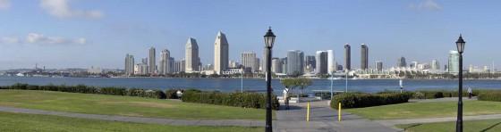 San Diego von Coronado aus