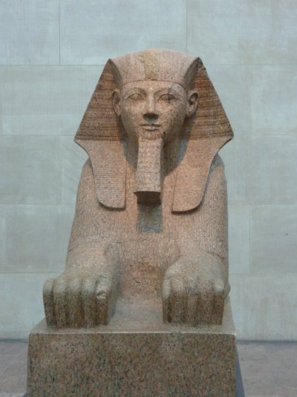 Sphinx im Metropolitian Museum of Art