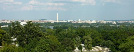 Blick auf Washington D.C.