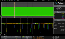 Screenshot of RAW S/PDIF data