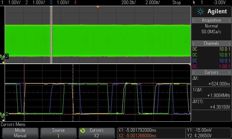 Screenshot of RAW S/PDIF data