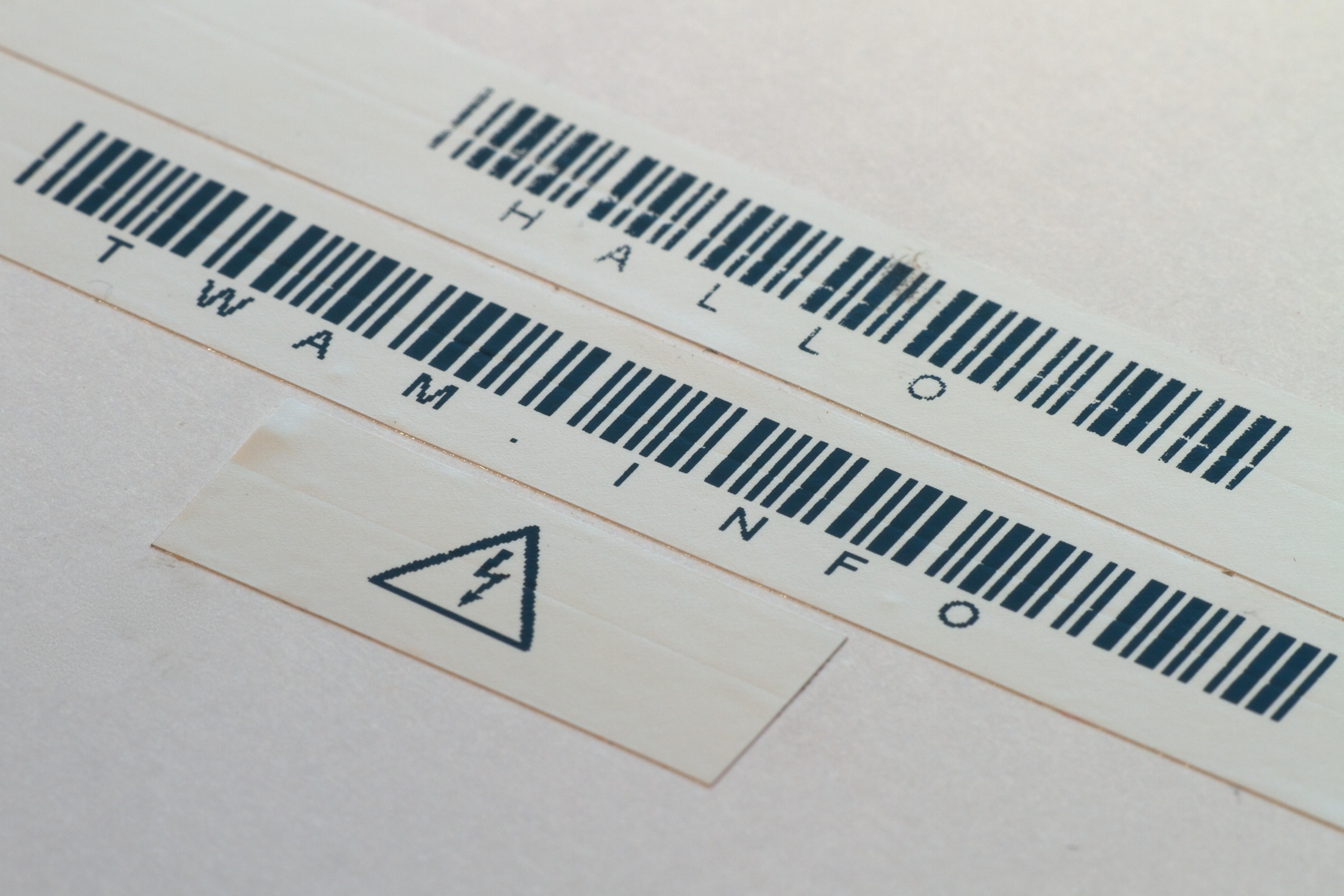 Barcode und Symbol Test