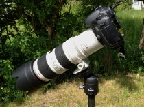 Load test with Canon EOS 7D, 2x Extender and 70-200mm/2.8