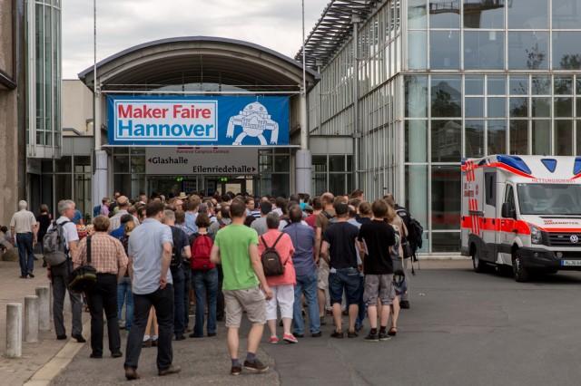 Großer Andrag bei der Maker Faire Hannover 2013