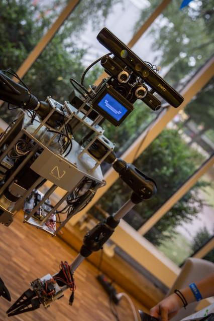 Humanoider Roboter von Malte Ahlers