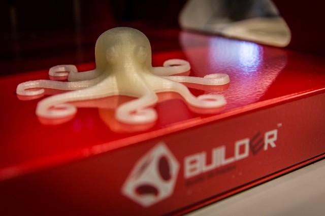 Tintenfisch aus dem 3D Drucker