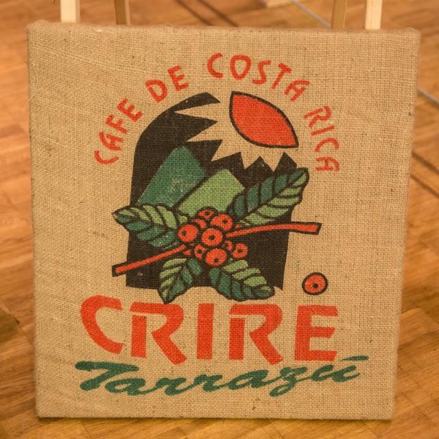 Bild aus alten Kaffeesäcken von CreaSteinmetz
