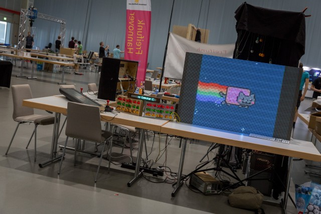 Stand des Chaos Computer Club