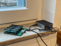 Raspberry Pi with PCB